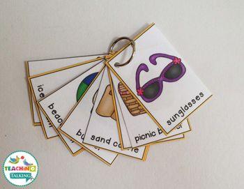 Summer Vocabulary Activities -
