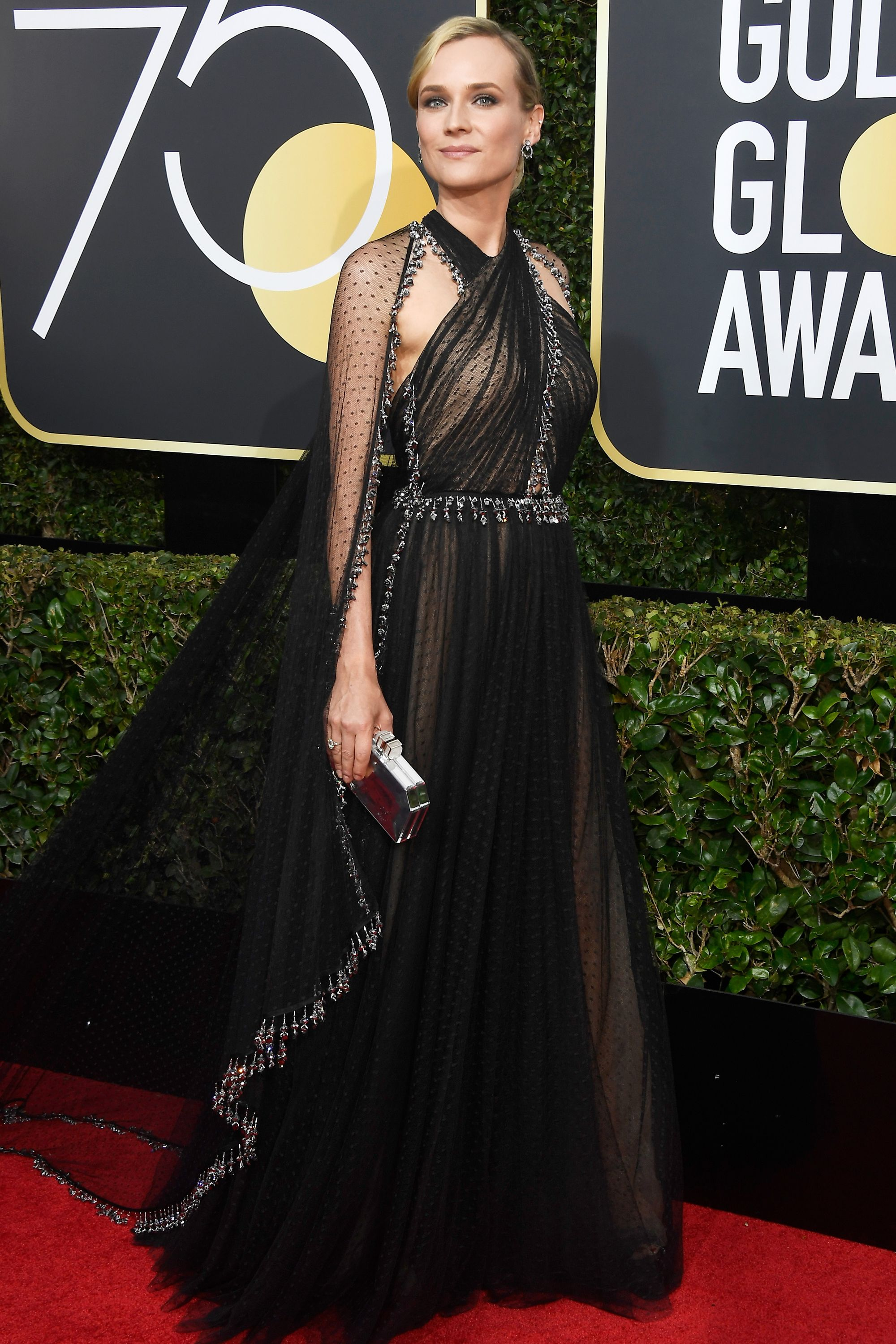 All the glamorous 2018 golden globes red carpet arrivals diane kruger diane kruger blake - Golden globes red carpet ...