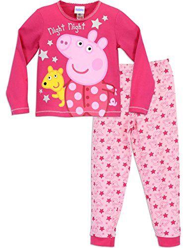 86e68158 Peppa Pig Merchandise, Pig Girl, Girls Pajamas, Pajama Bottoms, Pajama  Pants,