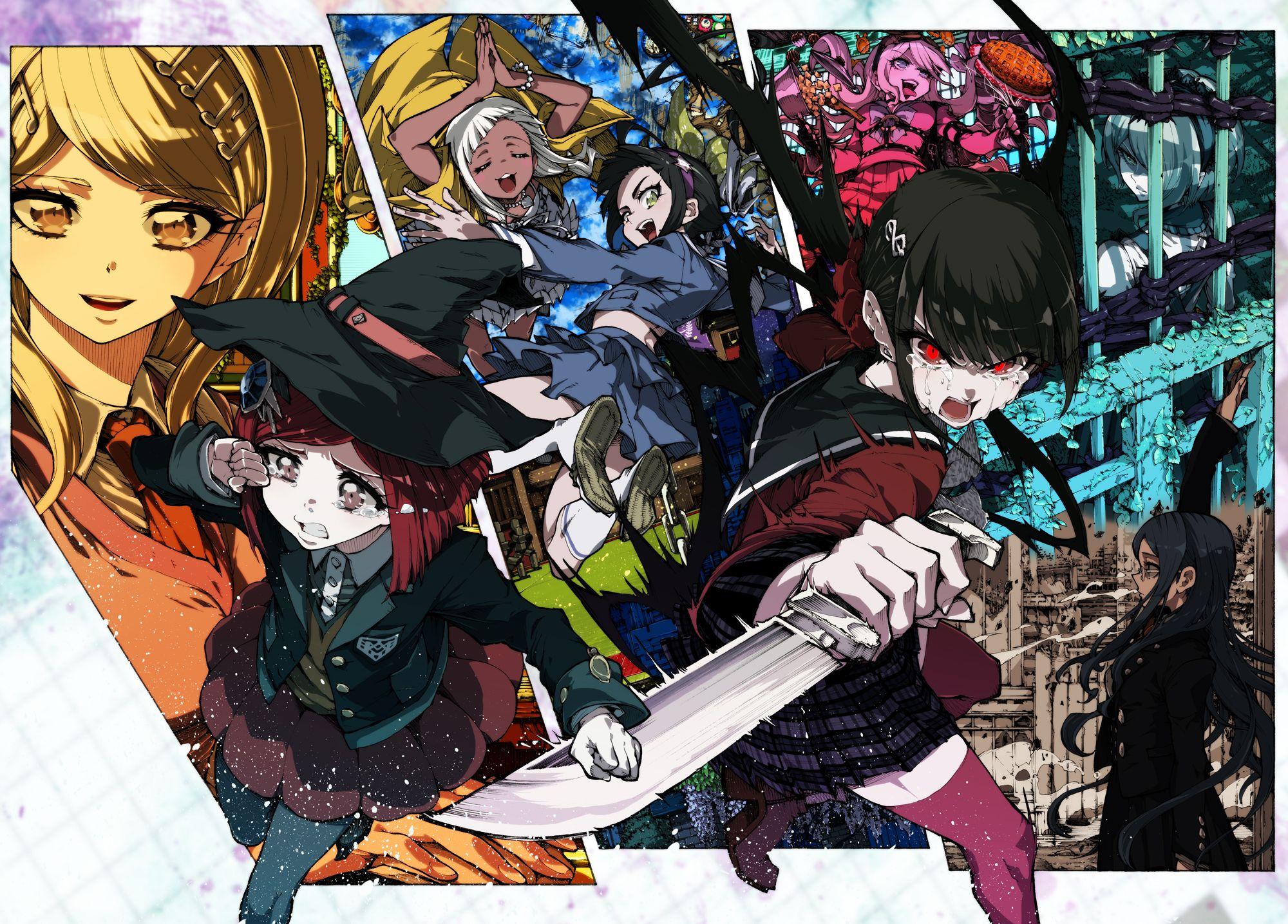 New DanganRonpa V3 Akamatsu Kaede Himiko Yumeno
