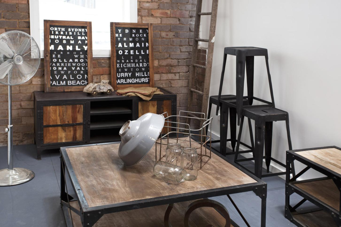 Diy Industrial Chic Furniture Furniture Ideas