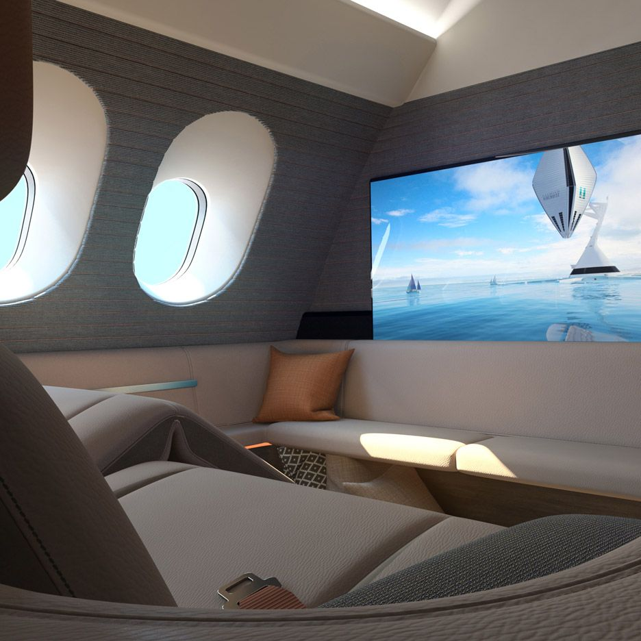 Passenger Jet Interior Concept With Images Private Jet