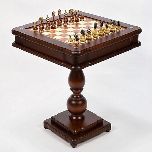 Game Tables - Heritage Collection Wood Game Table from ...
