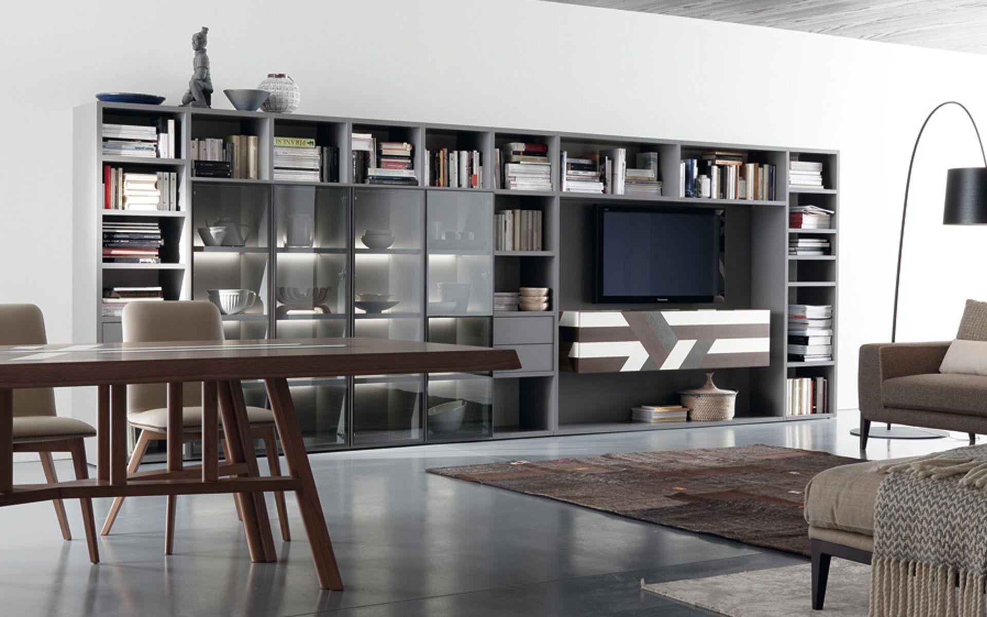 Libreria Moderna Reggio Emilia.Libreria Parete Componibile Moderno Arredamenti