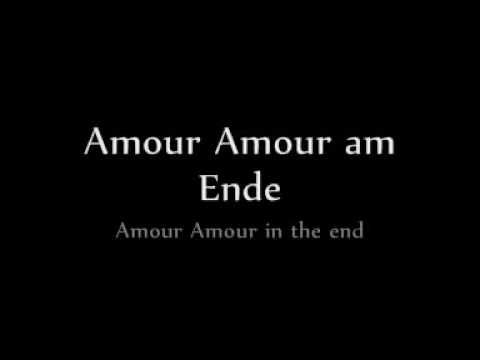 amour lyrics