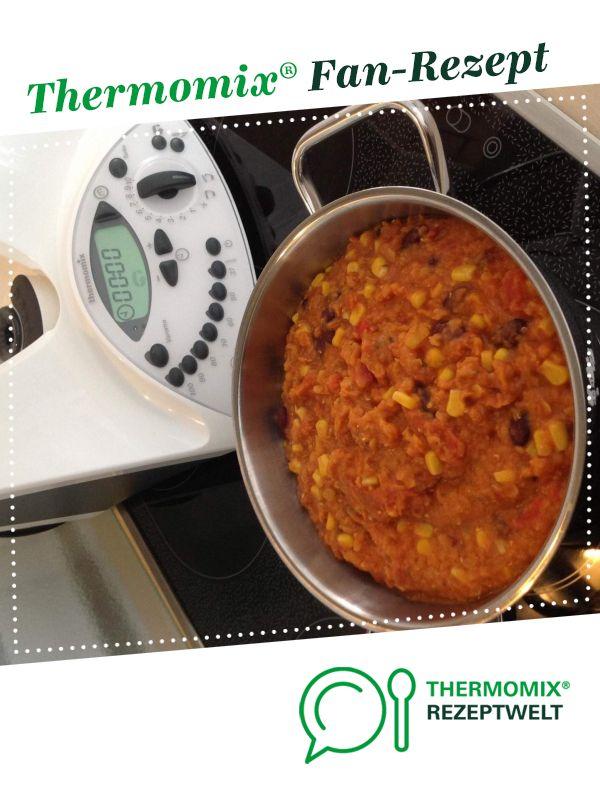 Veganes Linsen Chili sin carne (low carb) von family99. Ein Thermomix ® Rezept aus der Kategorie Hauptgerichte mit Gemüse auf www.rezeptwelt.de, der Thermomix ® Community. #veggiechilirecipe