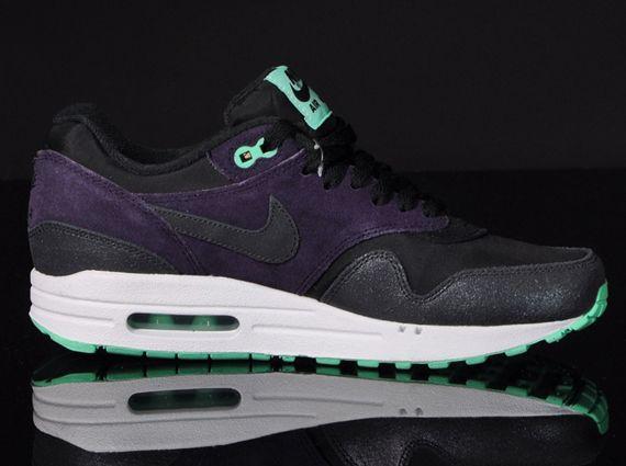 air max 1 black purple mint