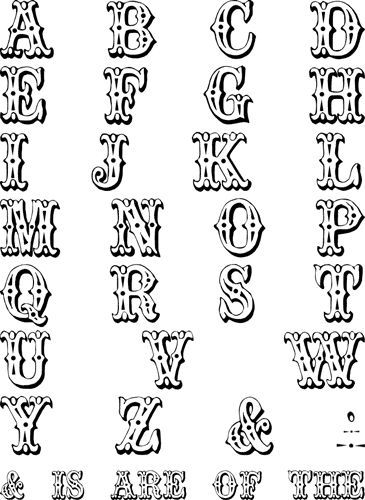Www Bing Com1 Microsoft143 305 70: Playground Alphabet From The Letters Crazy Font Hand