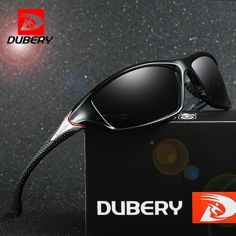 63238151ef DUBERY Sunglasses Men s Driving Polarized Night Vision Sun Glasses For Men  Square Sport Brand Luxury Mirror Shades Oculos D-120