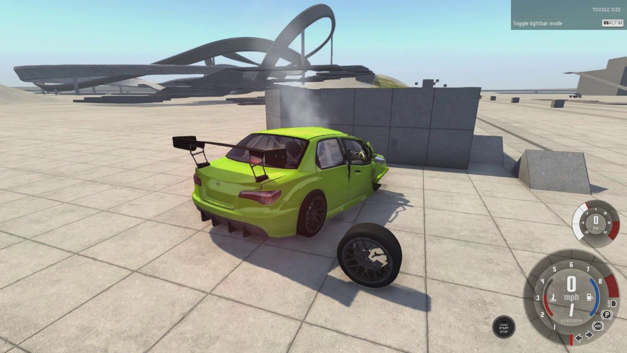 Destruindo Varios Carros No Beamng Drive (Logitech G29) | Geek