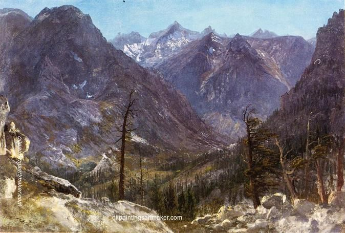 Albert Bierstadt Estes Park, Colorado painting for sale online outlet, painting