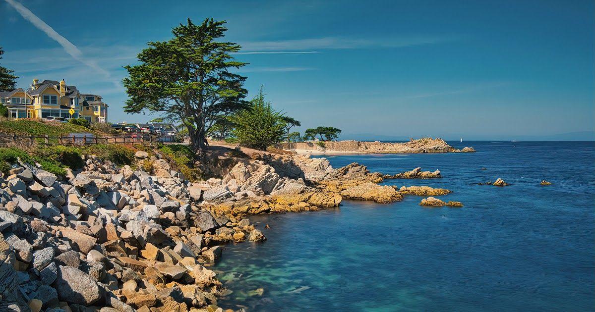 28 Stone Ocean Phone Wallpaper Desktop Wallpapers California Usa Monterey Bay Ocean 2560x1440 Stone Ocean Wallpaper Beach Landscape Blue Texture Background