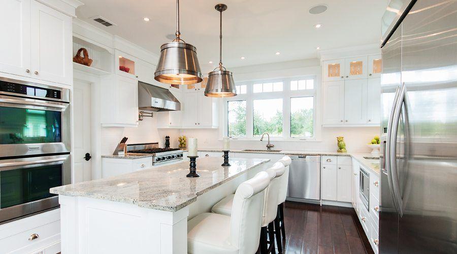 صور مطابخ حديثه و اشكال مطابخ مودرن و مميزه من موبيكان White Kitchen Interior Design Kitchen Design Interior Design Kitchen