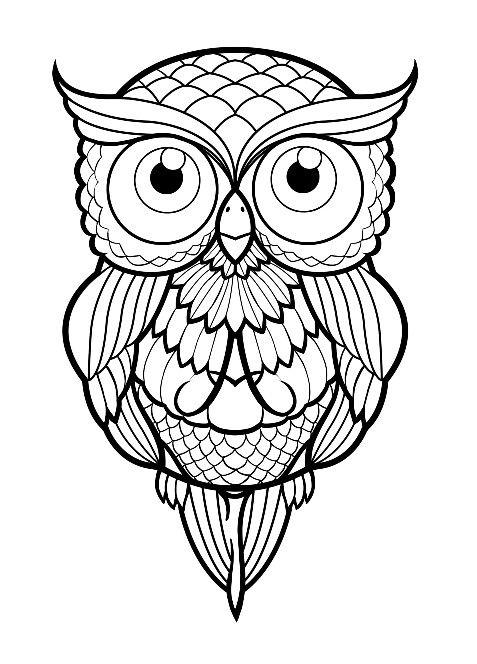 Buho Tattoo | Pinterest | Buho tattoo, Mandalas y Dibujo
