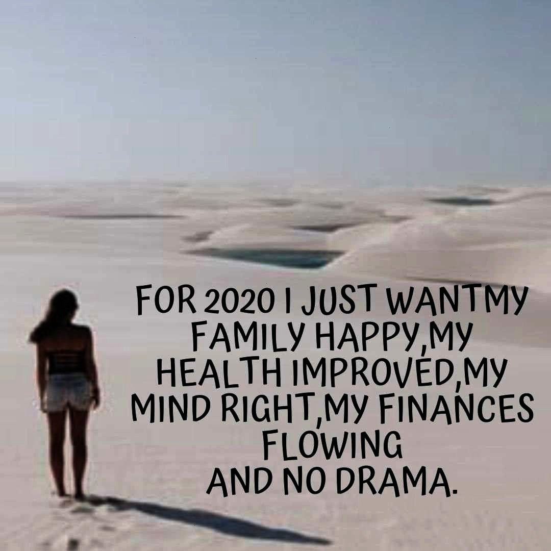 new you quotes mottos 2020 New year new you quotes mottos 2020: For 2020 I just want my family happ