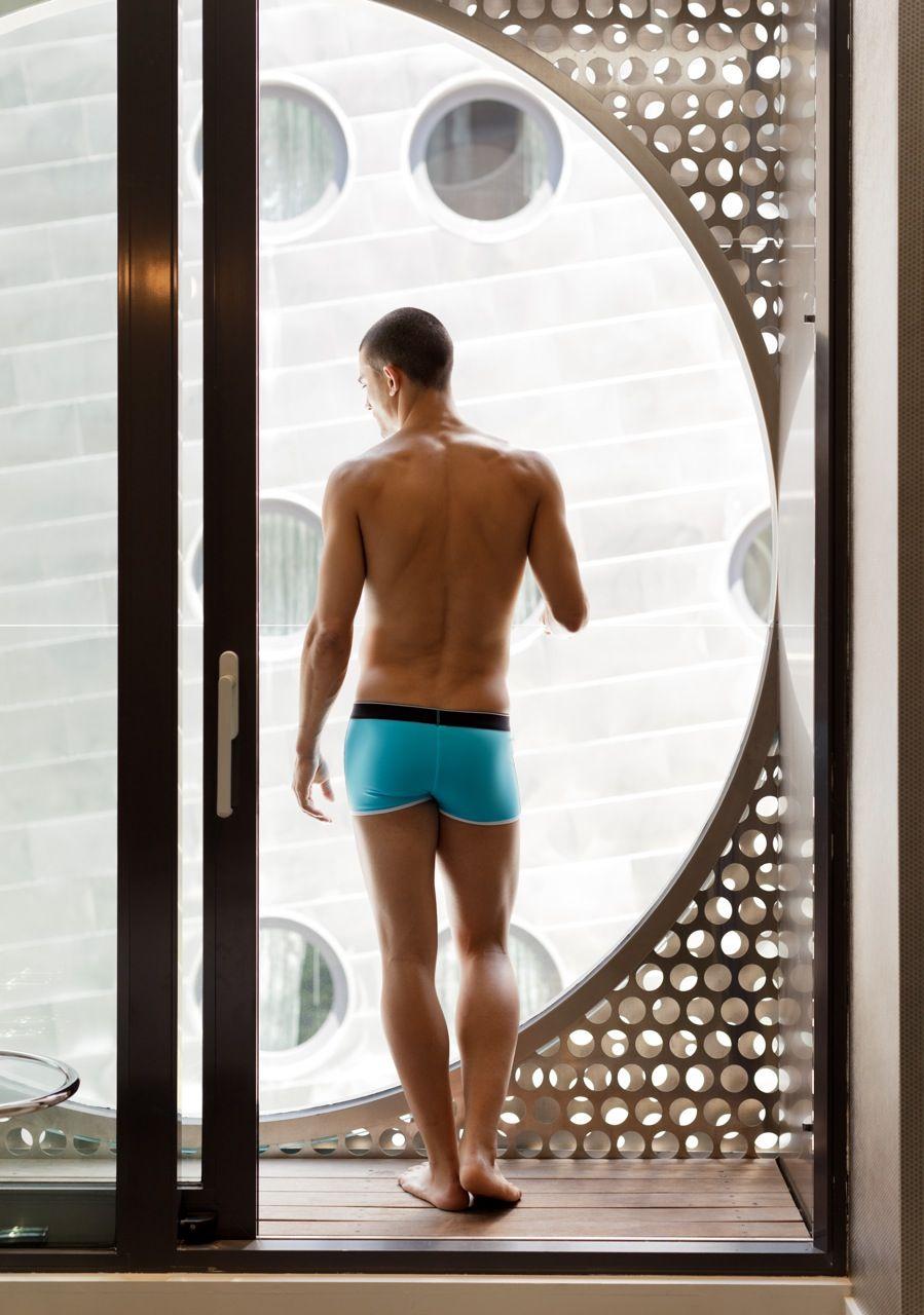2da73aef2d9 Nylon-Elastene swim trunks from Diesel. Photo: Kevin McDermott for The New  York Times. Find this Pin and more on Men's Style ...
