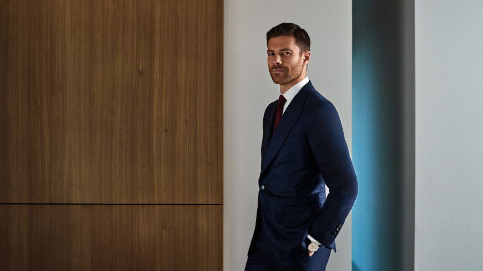 Xabi Alonso para Mr. Porter por Christian Kain