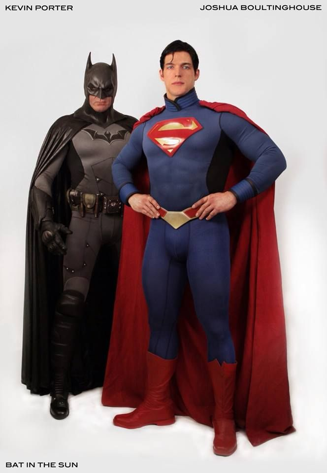 #superman #batman #cosplay | Awesome nerdness | Dc cosplay ...