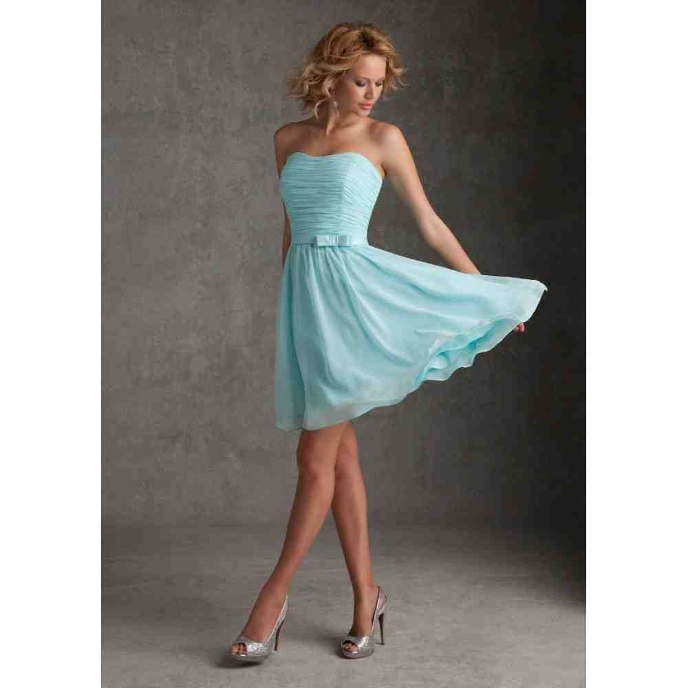 Short turquoise bridesmaid dresses say yes to the dress