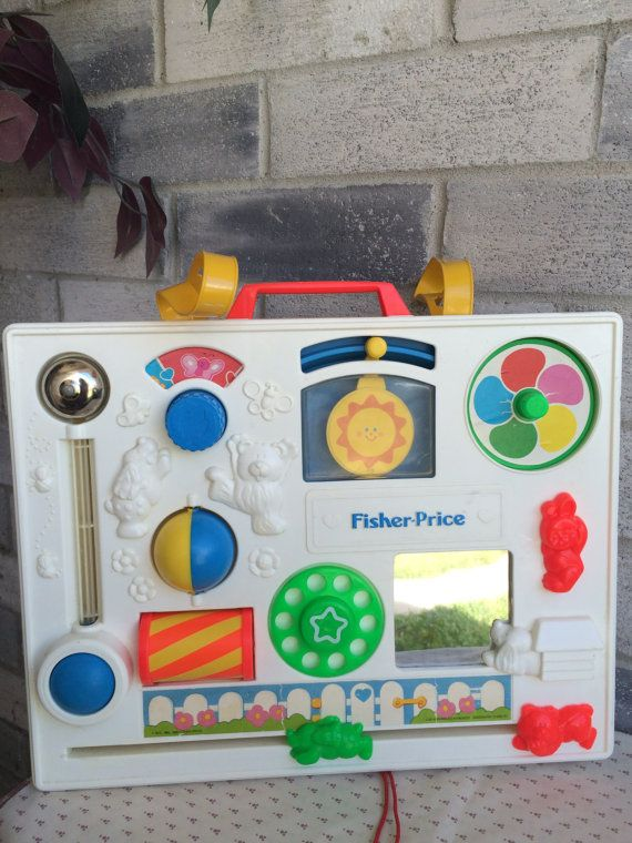 Vintage fisher price crib playpen activity gym toy vintage baby vintage fisher price crib playpen activity gym toy vintage baby crib toy baby toy publicscrutiny Images