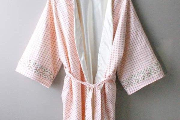 Diy une robe de chambre couture et patrons pinterest - Patron gratuit robe de chambre femme ...