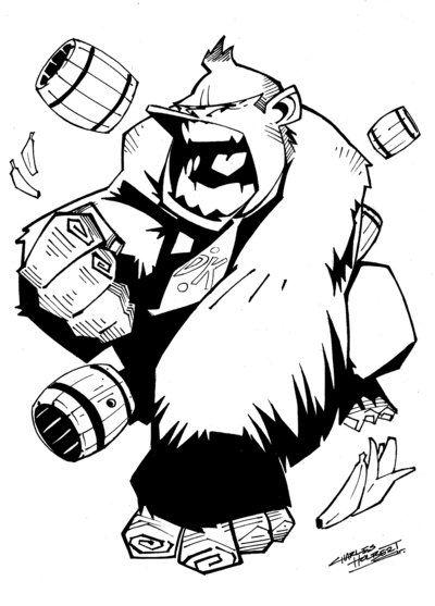 Kidstuff Donkey Kong By Kidnotorious Donkey Kong Dk K O N G