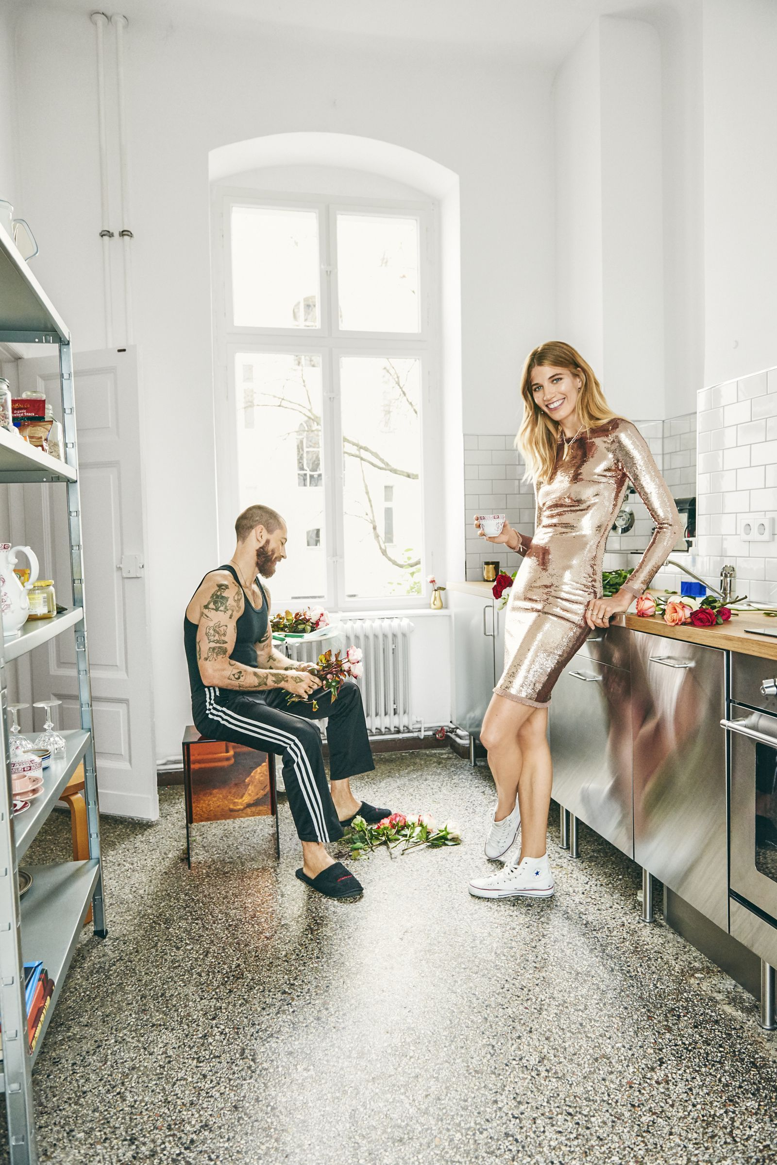 Modern Romance: Inside the Home of Fashions Most Photographed Couple
