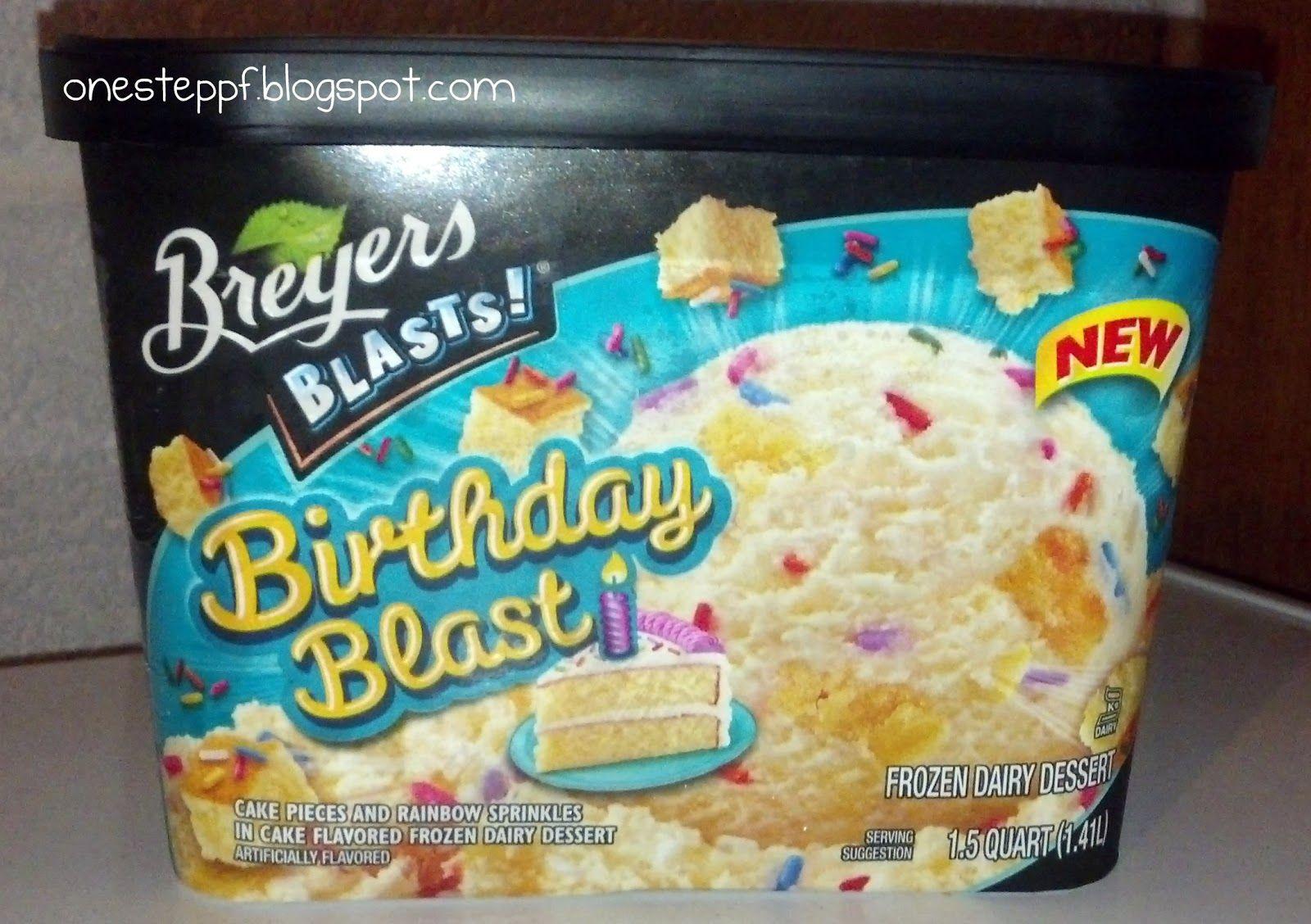 Astonishing Breyers Birthday Blast Ice Cream Best Thing On This Planet Ice Funny Birthday Cards Online Alyptdamsfinfo