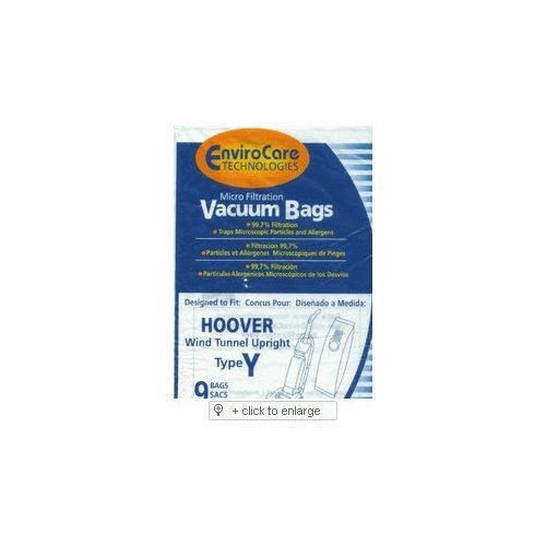 EnviroCare Replacement Micro Filtration Vacuum Bags for Hoover Windtunnel Upright Type Y 9 Pack