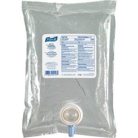 Purell Goj215608 Instant Hand Sanitizer Refill 1 Each Clear