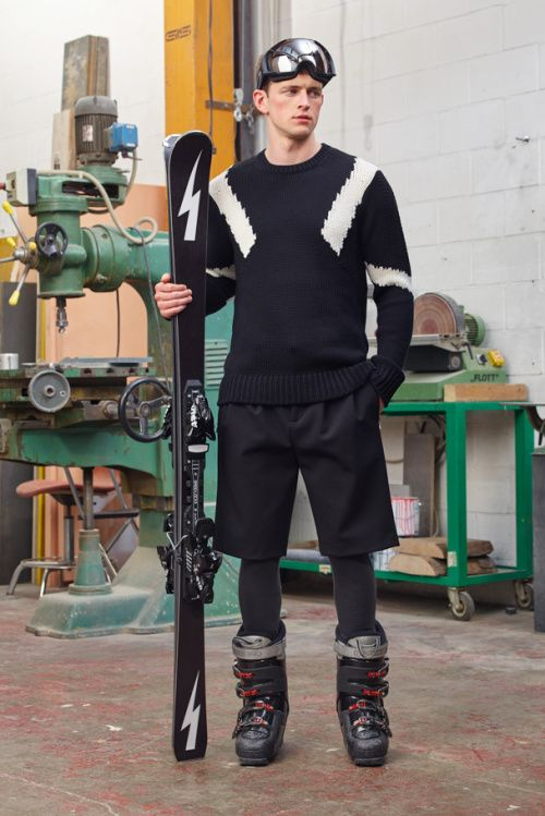 Neil Barrett Introduces His Own Collection for the Slopes  c65e62566