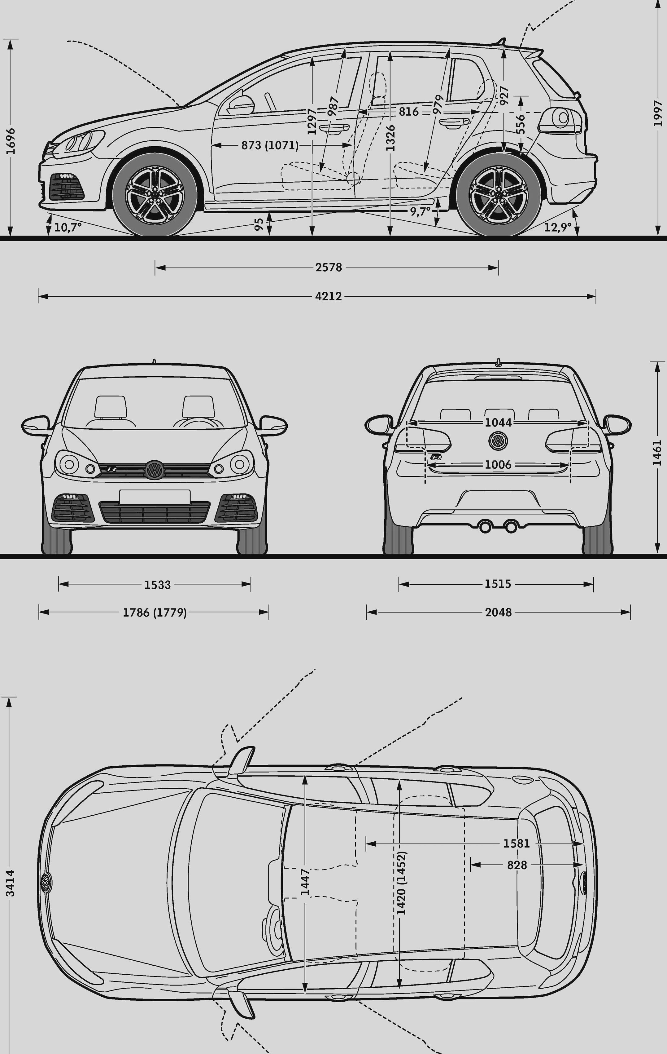 Vw Golf R Model Sheet