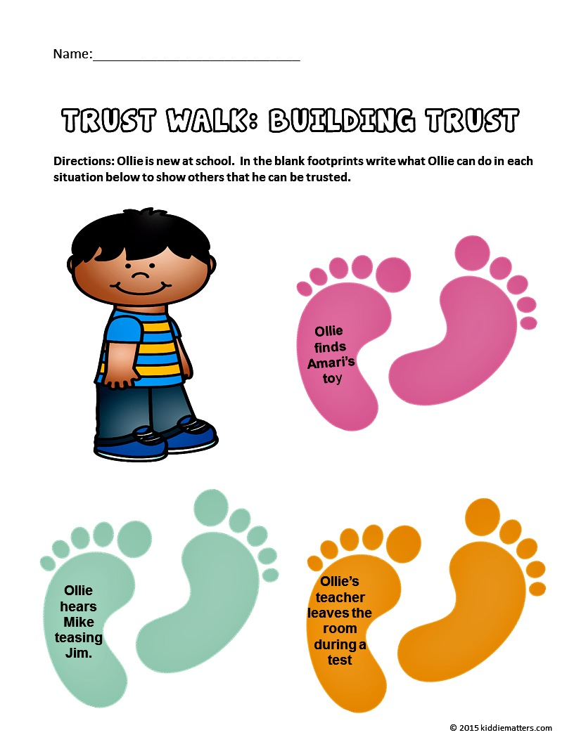 Worksheets Trustworthiness Worksheets character education lessons that teach kids trustworthiness trustworthiness