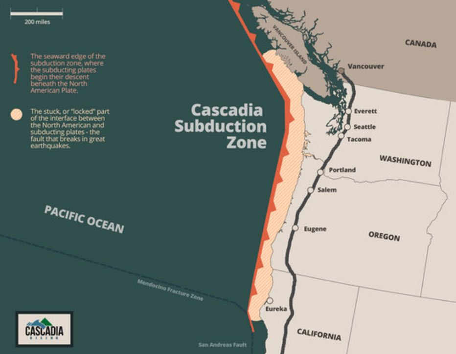 FEMA Preparing For Magnitude 9 0 Cascadia Subduction Zone Earthquake