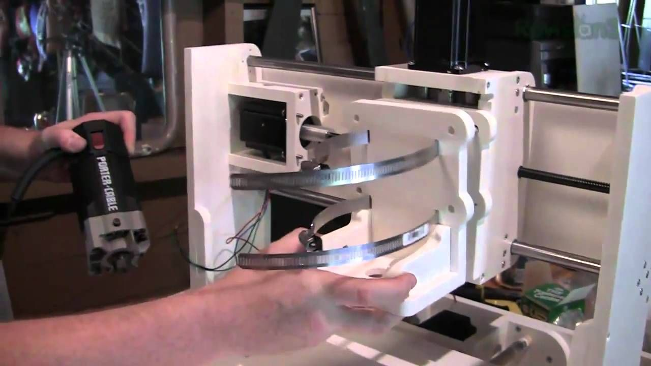The Ben Heck Show - Build a Portable CNC Router for Fun and