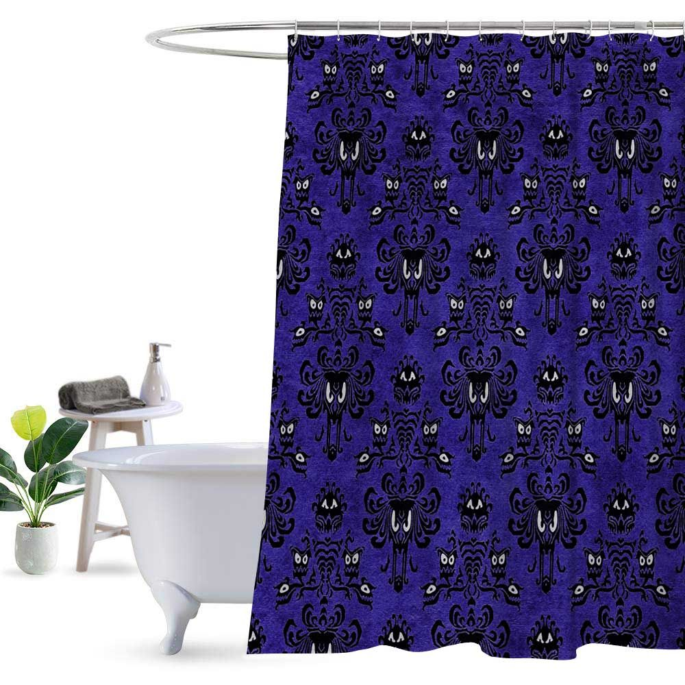 Disney Haunted Mansion Pattern Shower Curtain 100 Polyester