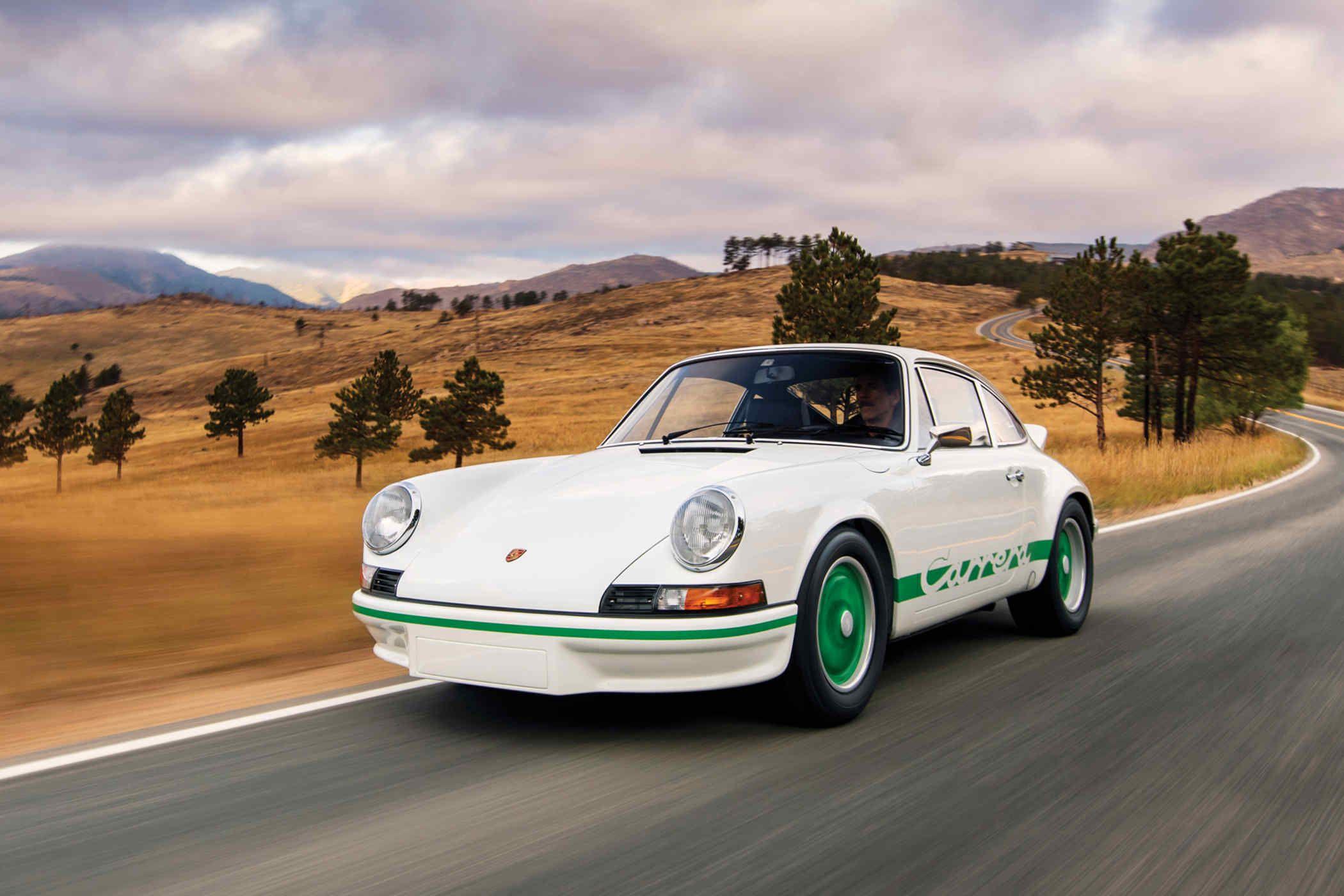 The 1973 Porsche 911 Carrera RS 2 7 Sport is one of just 200 original lightweight versions built $875 000 $1 1m