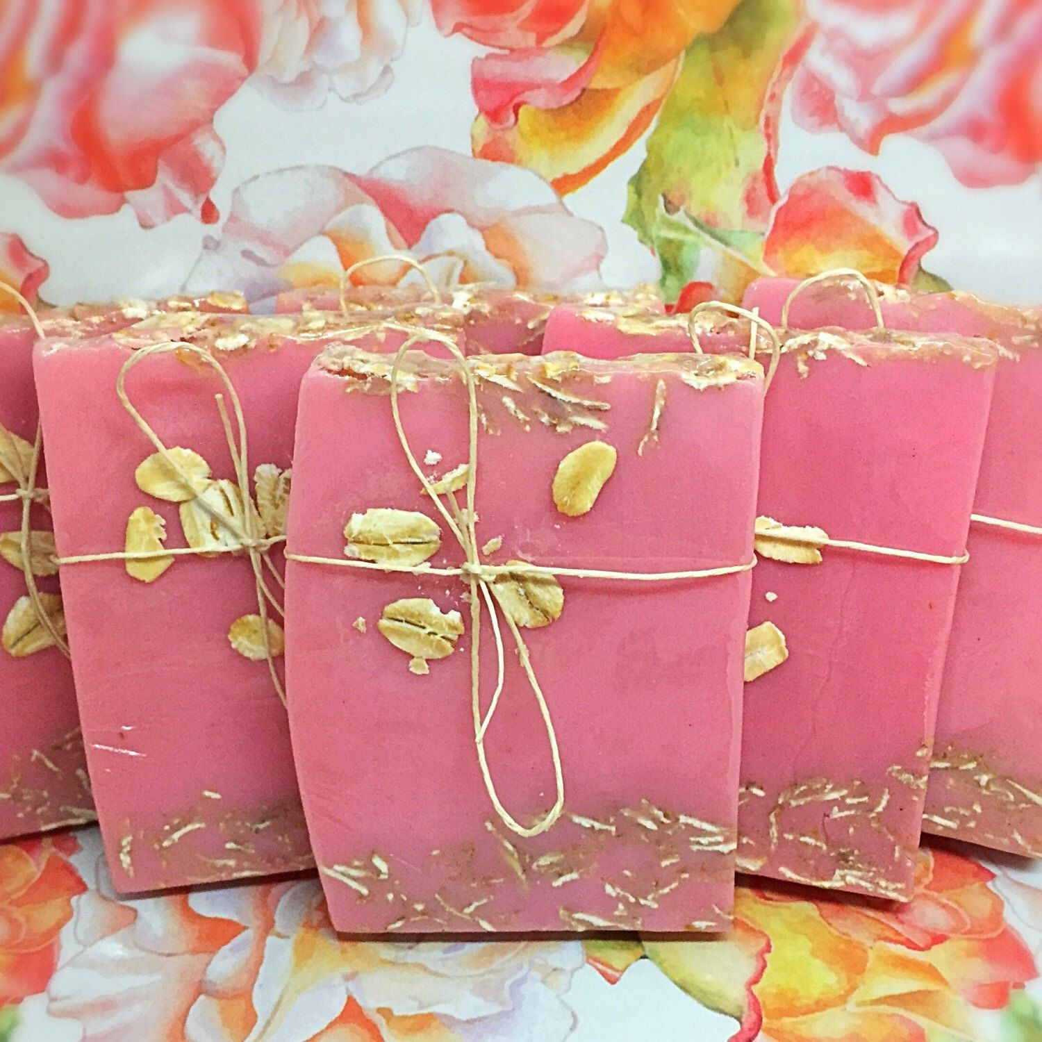 Pretty In Pink Soap Favors, Great For Baby Showers, Parties,