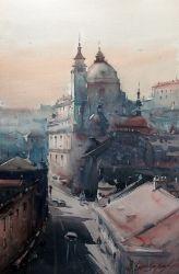 dusan-djukaric-light-of-praque-watercolor-35x54-cm