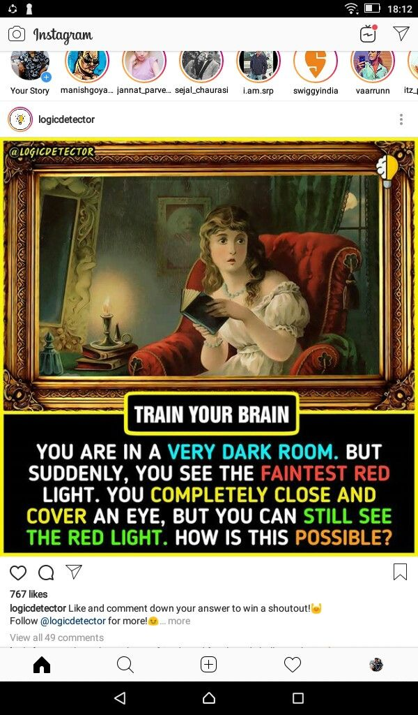 Pin by THE... on riddles Dark room, Train your brain