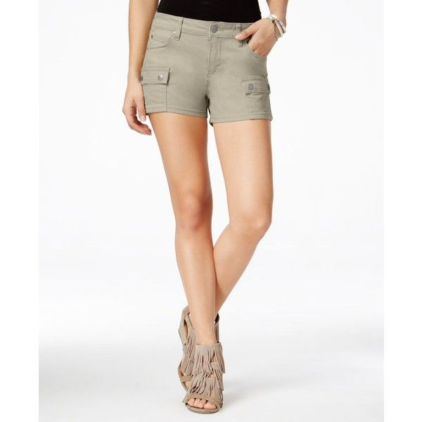 Celebrity Pink Juniors' Cargo Shorts ($34) ❤ liked on Polyvore ...