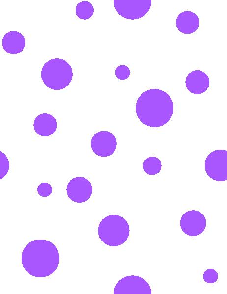 purple polka dots purple polka dots clip art vector clip art rh pinterest com red polka dot background clipart polka dot circle background clipart