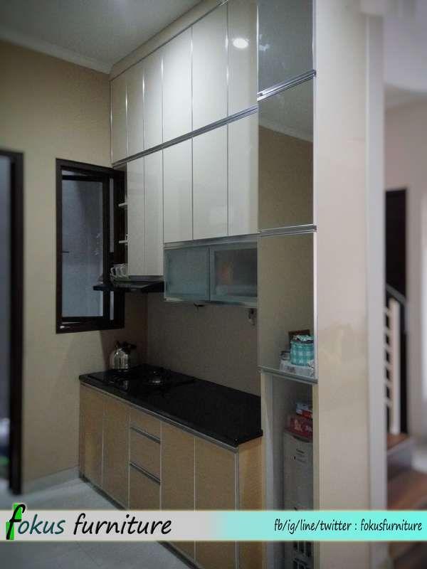 Kitchen Set Minimalis Lis Aluminium Depok From Links