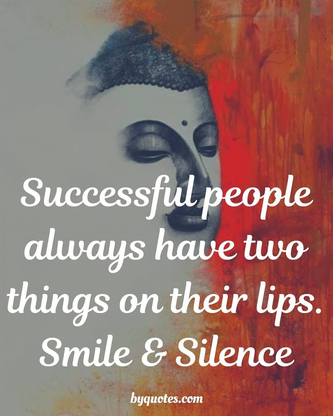 Smile and Silence successquotes hardwork englishquotes