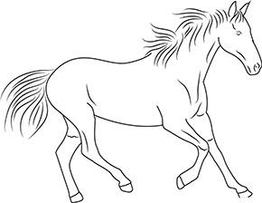 Ausmalbild Pferd Zum Kostenlosen Ausdrucken Und Ausmalen Ausmalbilder Malvorlagen Hund Ausmalen Ausmalbilder Pferde Ausmalbilder Pferde Zum Ausdrucken