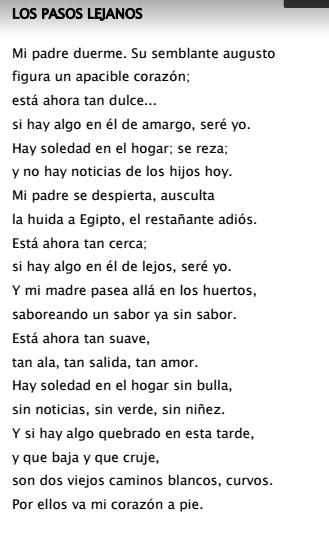 César Vallejo Los Pasos Lejanos Poetry Math Math Equations