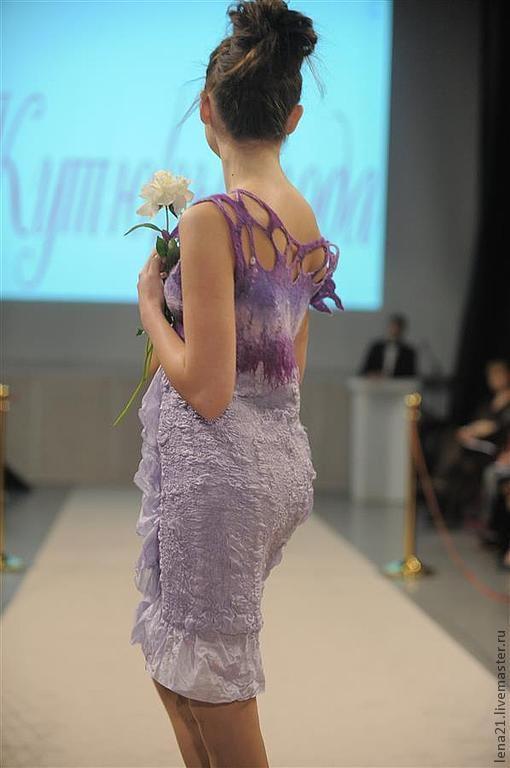 Платье из экомоды