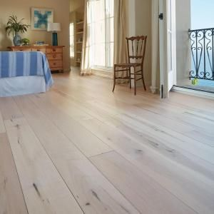 Malibu Wide Plank Maple Manhattan 3 8 in  Thick x 6 1 2 in  Wide x     Malibu Wide Plank Maple Manhattan 3 8 in  Thick x 6 1 2 in  Wide x Varying  Length Engineered Click Hardwood Flooring  23 64 sq  ft