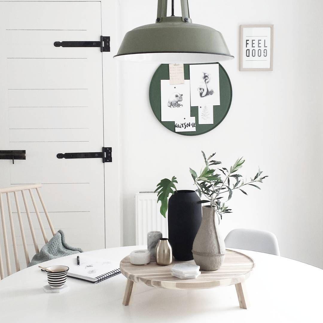 Prachtige kleurencombinatie; HKliving workshop lamp, Deens.nl ...