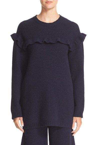 Embroidered wool sweater Red Valentino Free Shipping Wide Range Of Cheap Sale Wholesale Price Hard Wearing Cheap Sale Largest Supplier mc3fqavID1